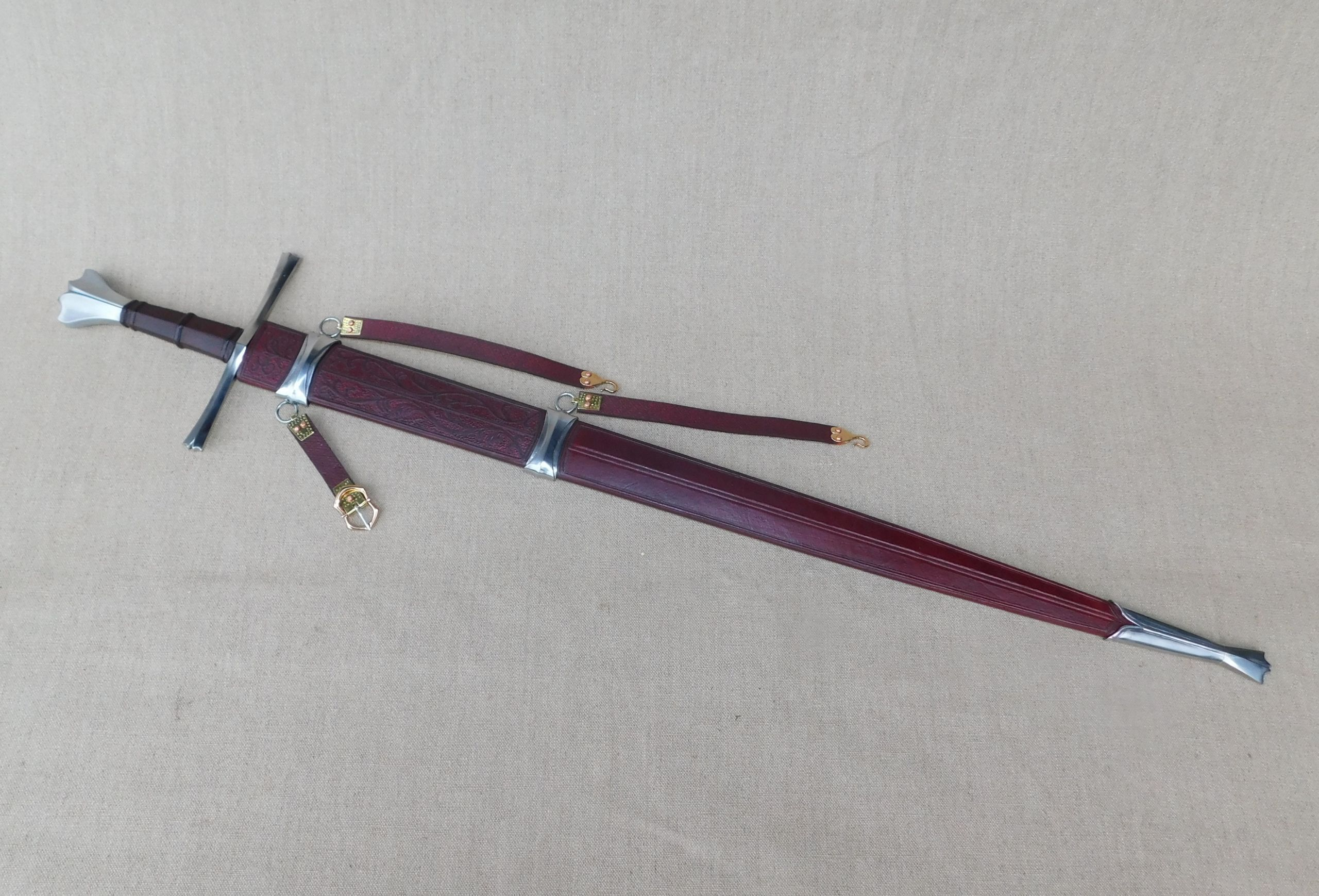 Sword Scabbards Gallery - Tod's Workshop