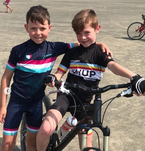 HUP Italian Collection Kids Cycling Bib Shorts – Kids Racing Ltd a8795528e