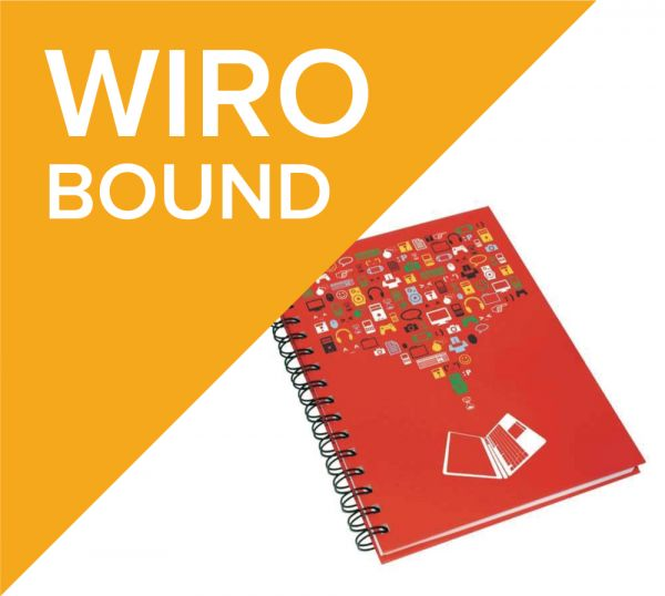 Wiro bound notepads
