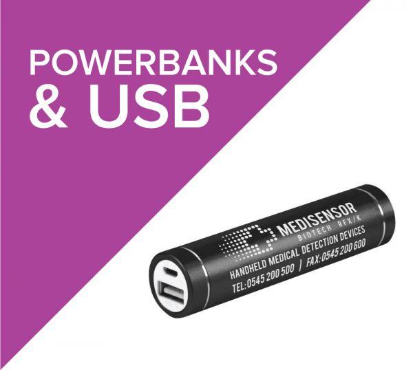 Promotional USB Sticks and Powerbanks
