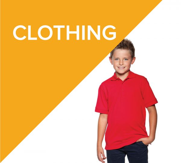 Printed or Embroidered school clothing fr children