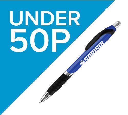 Promotional pens under 50p