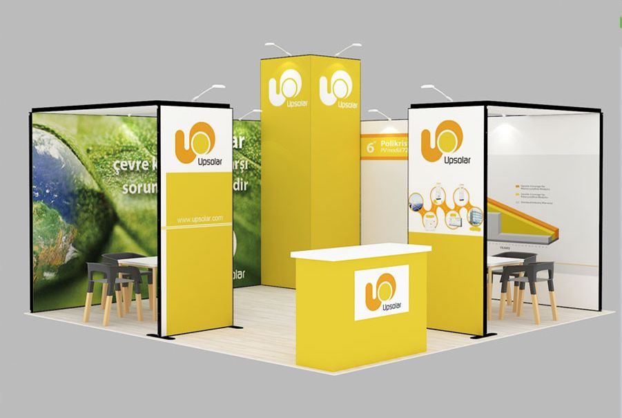 Exhibition Stand Meaning : M m radius exhibition stand hire proj design